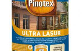 Преимущества и особенности деревозащитной пропитки Pinotex Ultra Lasur