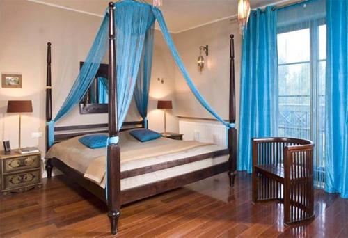 Дизайн спальни в Алжирском стиле