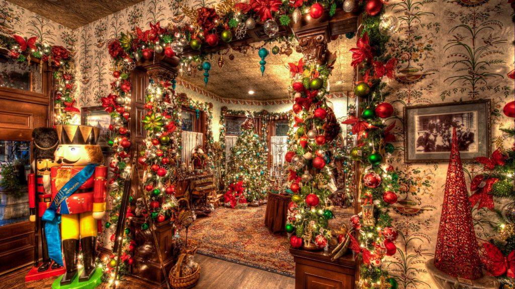 Новогодние или Рождественские элементы для украшения праздничного интерьера