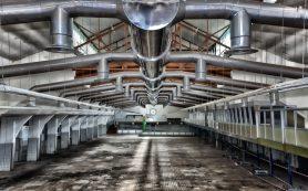 Система вентиляции производственных помещений для фабрик