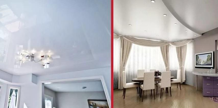 Выбираем потолок: гипсокартон или натяжной