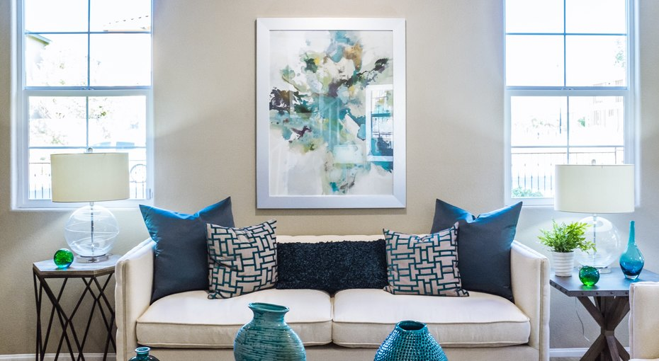 8 хитростей для преображения гостиной