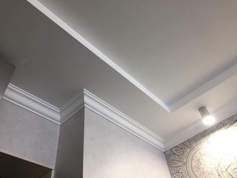 Как собрать гипсокартонный потолок на каркасной конструкции