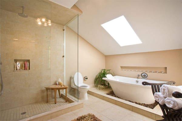 Ванные комнаты: смешение стилей