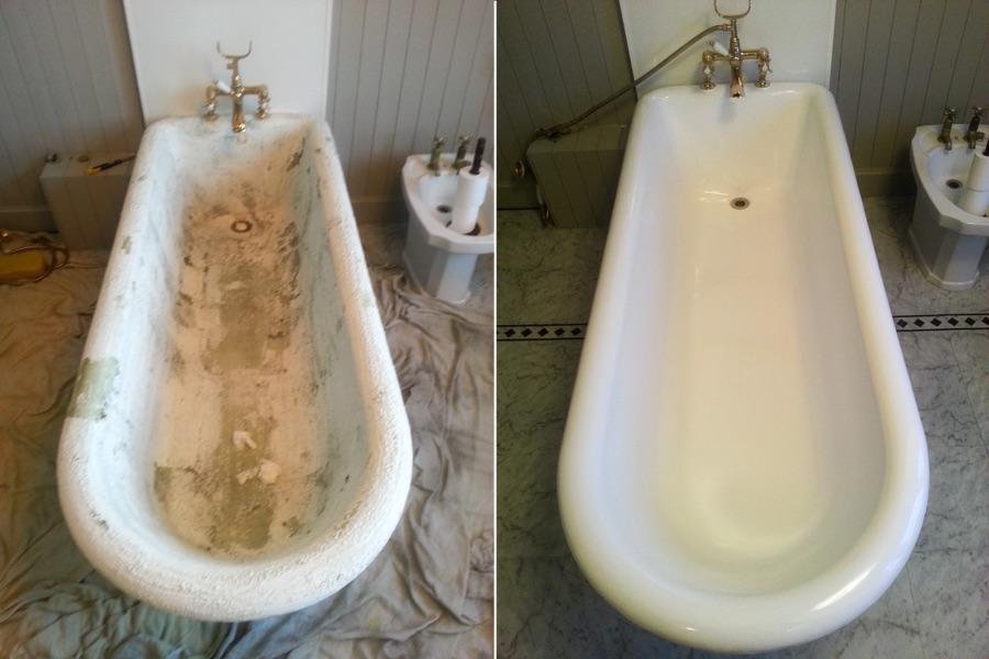 Реставрация старой ванны своими руками