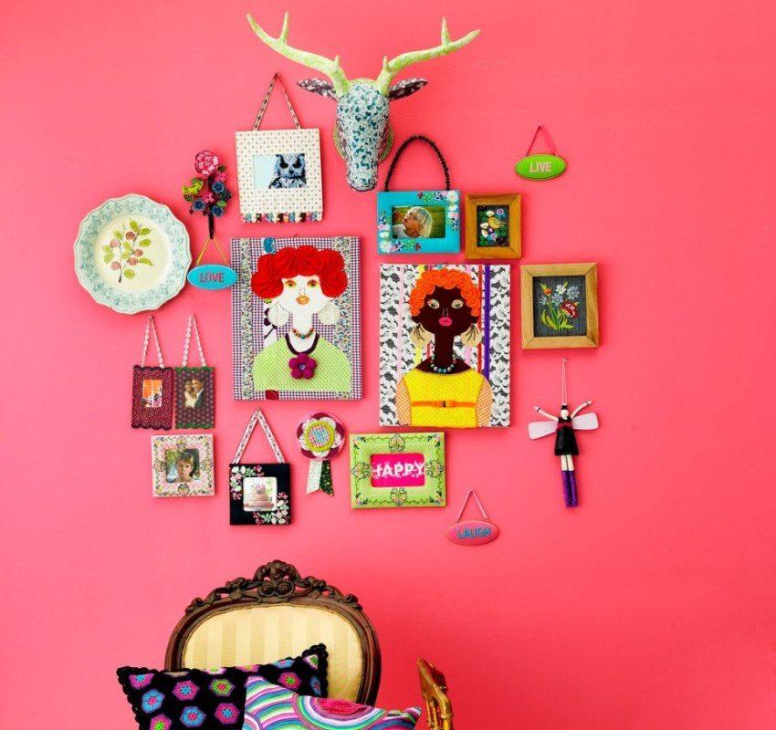 Покраска стен в квартире: дизайн