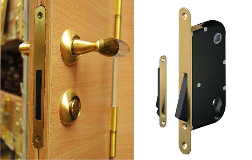 Преимущества магнитного замка для межкомнатной двери