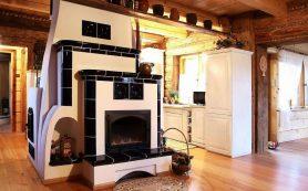Отопление частного загородного дома камином