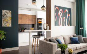 Как обустроить удобную кухню-гостиную: 6 идей из наших проектов