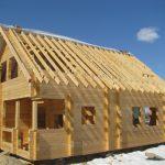 Строительство дома из бруса под ключ в Тюмени