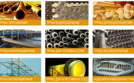 Использование и характеристики труб из композитных материалов