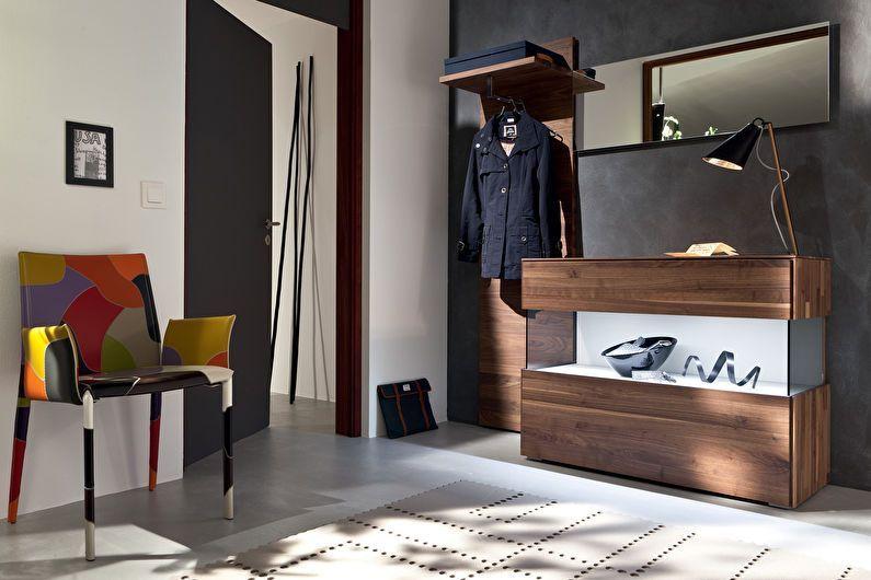 Современная мебель в прихожую, ее особенности и преимущества