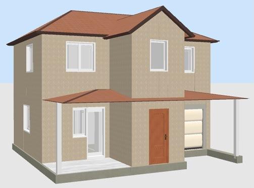 Постройка домов из Сип панелей