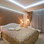 Как организовать правильное освещение спальни