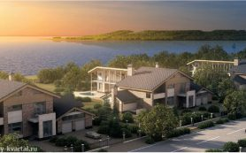 Преимущества недвижимости в коттеджном поселке на берегу