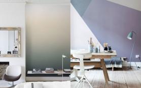 Кисть в руки: необычные способы окрашивания стен