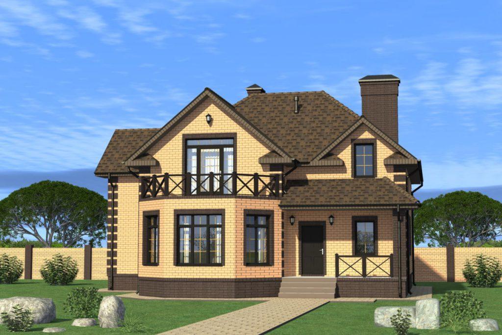 Готовые проекты домов с мансардой