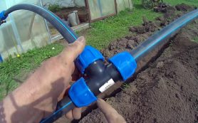 Прокладка водоснабжения в частном секторе
