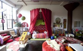 Бохо — один из самых ярких стилей в интерьере