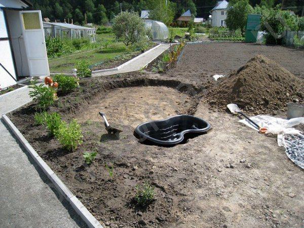 Строим альпийскую горку на садовом участке