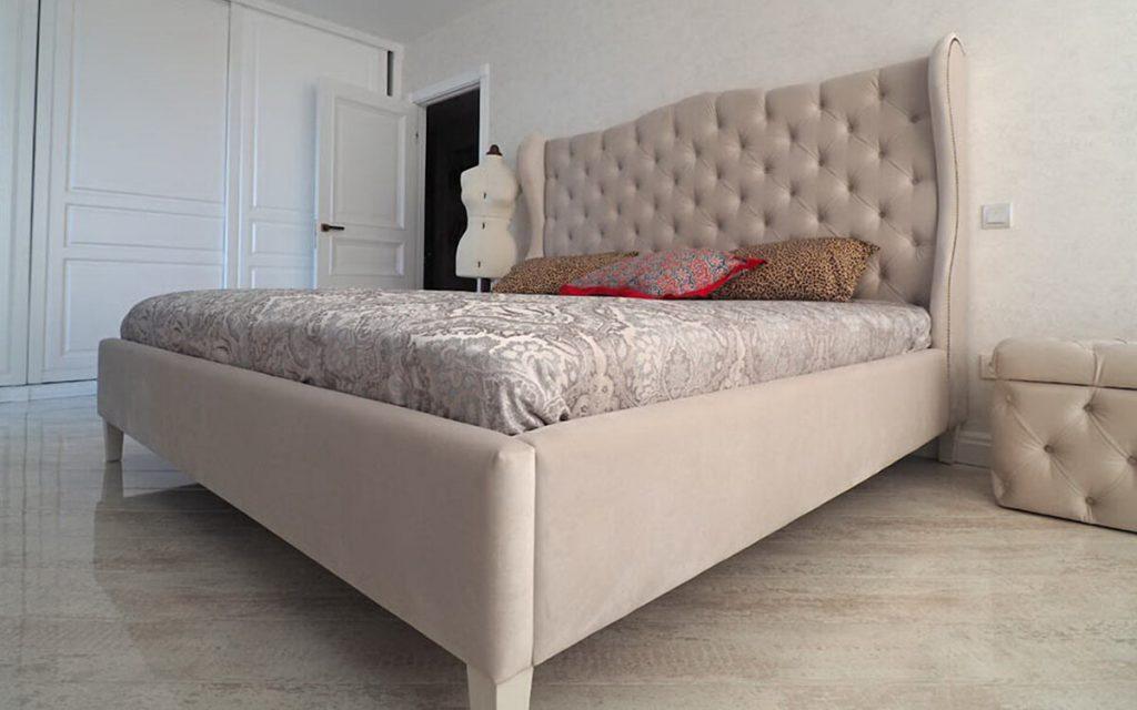 Где лучше купить кровать с мягким изголовьем