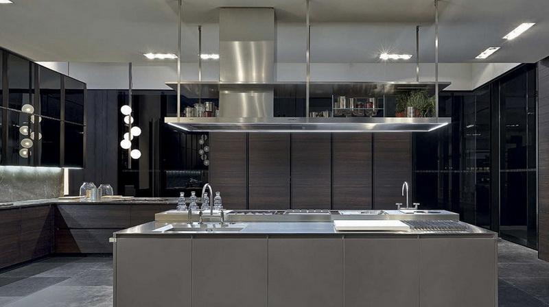 Самые модные цвета кухни в стиле минимализм