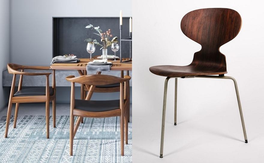 Датский дизайн: герои и их стулья