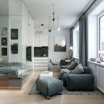 Как правильно организовать пространство однокомнатной квартир