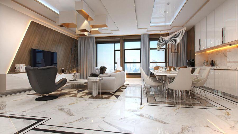 Сколько стоит дизайнерский ремонт квартиры?