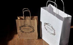 Крафт-пакеты с логотипом как рекламный инструмент
