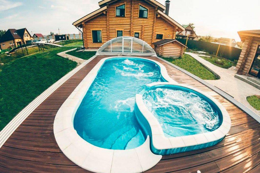 Композитные бассейны и павильоны для бассейнов от компании Composit Group