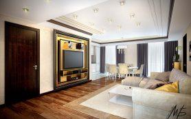 Как организовать пространство ТВ-зоны