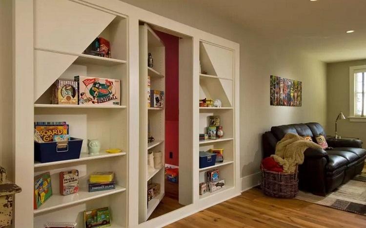 Секретная комната в доме: личное пространство за скрытой дверью