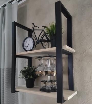 Полки лофт – это стиль и практичность любого помещения