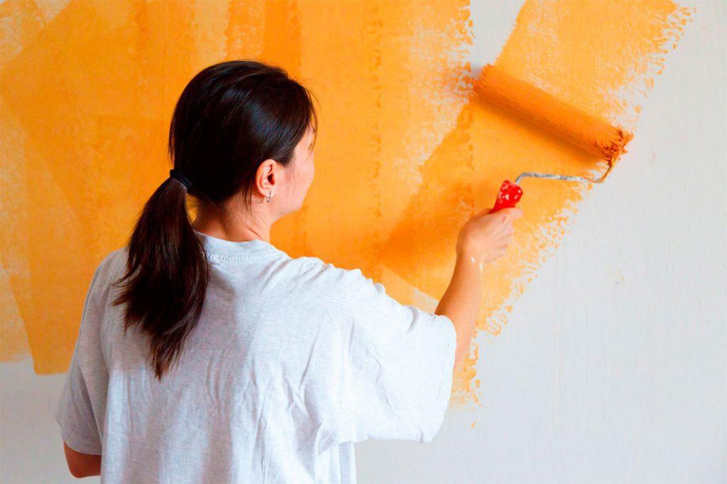 Ремонт своими руками. Красим стены краской