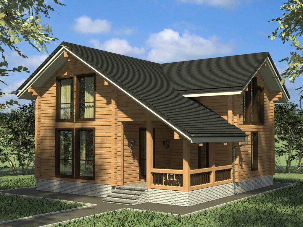 Услуги проектирования и возведения домов из дерева