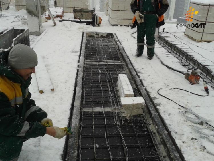 Методы искусственного электрического прогрева бетонной смеси