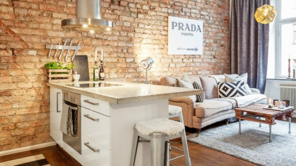 8 гениальных идей для квартиры площадью до 30 метров