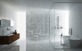 Ванная в стиле минимализм: простые и функциональные решения
