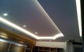 Выбор светильника для натяжного потолка