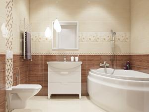 Подбираем кафель для интерьера ванной