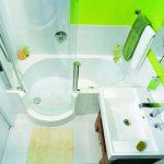 Идей для маленькой ванной комнаты и туалета