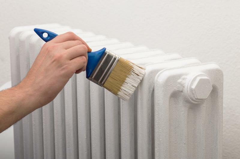 Практичные советы: как покрасить батареи отопления