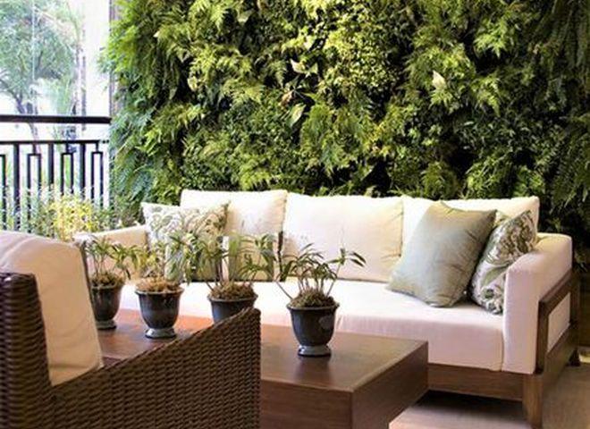 Экодизайн интерьера: вертикальные сады