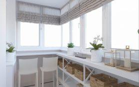 Барная стойка на балконе: виды, расположение и материалы изготовления