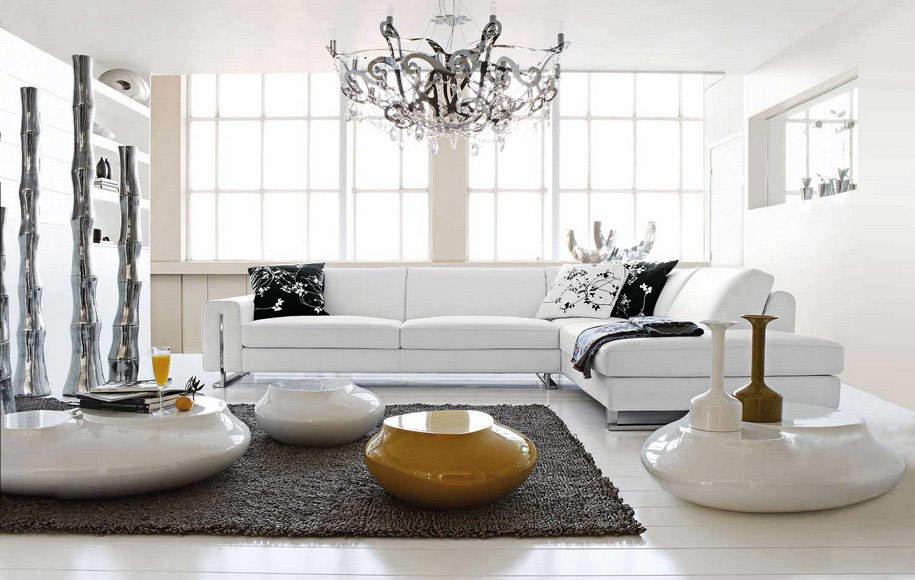 Новый фаворит: белый диван для любого стиля интерьера
