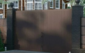 Характеристика распашных ворот марки «Дорхан»