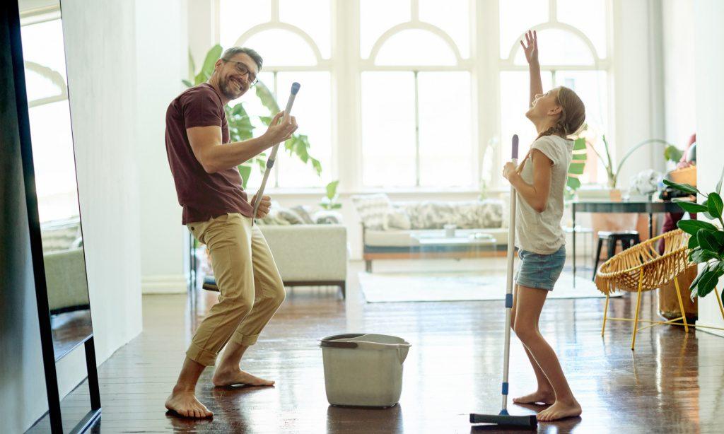 Как поднять себе настроение переменой обстановки… дома?