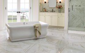 Плитка в ванной комнате: советы дизайнеров