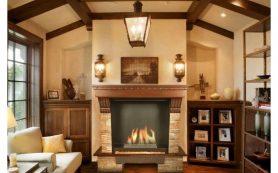 Английские камины – стильный и функциональный декор